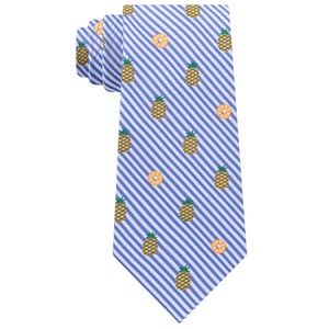 Stafford 100% Silk Broadcloth Pineapple Necktie